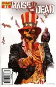 Raise The Dead #1 Arthur Suydam Cover (2007) Dynamite Entertainment comic book